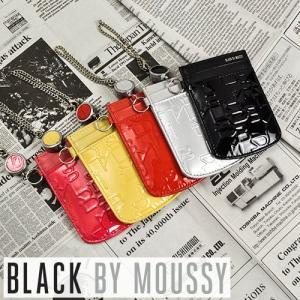 ブラックバイマウジー BLACK BY MOUSSY リール付きパスケース 定期入れ 名刺入れ TIER ティア 5450025|newbag-w