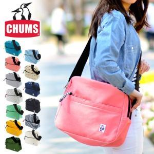 チャムス CHUMS ショルダーバッグ スウェット Trapezoid Shoulder Sweat メンズ レディース ch60-2125|newbag-w