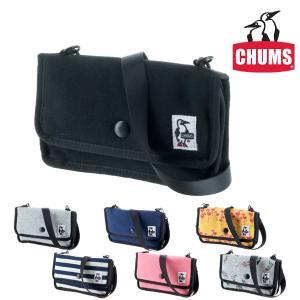 チャムス CHUMS ミニポーチ ショルダーポーチ スウェット Mini Pouch Sweat メンズ レディース ch60-0727|newbag-w