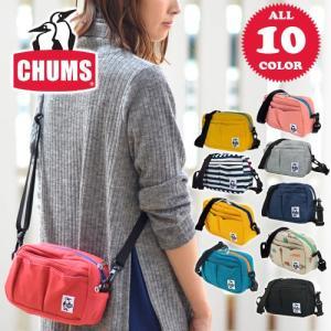 チャムス CHUMS 2wayポーチ ショルダーバッグ スウェット Outer Pocket Pouch Sweat CH60-2078|newbag-w