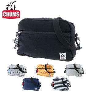 チャムス CHUMS ショルダーバッグ スモールトラペゾイドショルダー スウェット Small Trapezoid Shoulder Sweat メンズ レディース ch60-2126