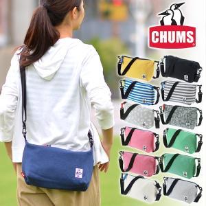 チャムス CHUMS ショルダーバッグ スウェット pocket Shoulder Bag Sweat メンズ レディース ch60-2314|newbag-w