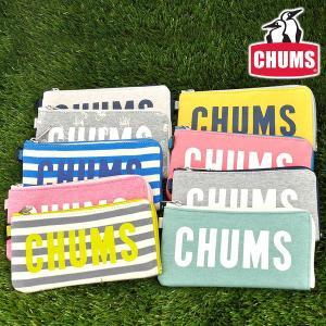チャムス CHUMS L字ファスナー長財布 スウェット Long Square Wallet Sweat メンズ レディース ch60-2362|newbag-w