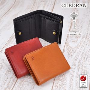 クレドラン CLEDRAN 二つ折財布 折り財布 ESCA エスカ WALLET ウォレット レディース cl2662 ブランド|newbag-w
