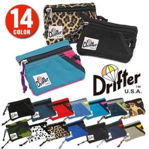ドリフター Drifter キーコインポーチ コインケース 小銭入れ パッククロスナイロン df0230|newbag-w