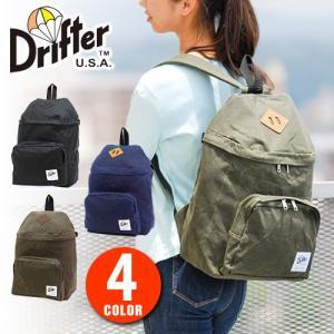 ドリフター Drifter リュックサック デイパック マーテキシンワックスコットン df0420w|newbag-w