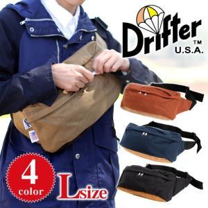 ドリフター Drifter ウエストバッグ(L) ボディバッグ 1000dコーデュラナイロン CLASSIC HIP SACK L df0565|newbag-w