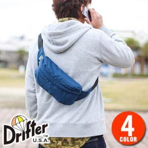 ドリフター Drifter ボディバッグ ウエストバッグ パッククロスナイロン df1535|newbag-w