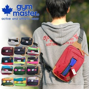 ジムマスター gym master ボディバッグ メガジップ g239572|newbag-w