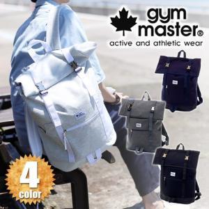 ジムマスター gym master リュックサック ロールトップバックパック METAL BUCKLE メタルバックル g349316|newbag-w