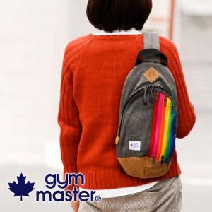 ジムマスター ボディバッグ gym master メニージップボディバッグ g439575|newbag-w