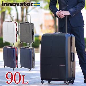 スーツケース キャリー ハード 旅行 イノベーター innovator 90L 大型 1週間以上 inv68