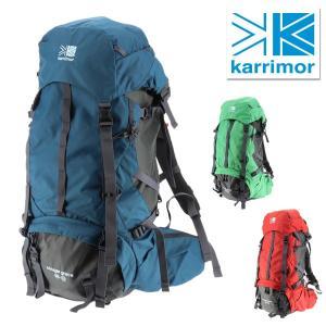 カリマー karrimor ザックパック 登山用リュック alpine×trekking cougar grace 55-70 メンズ レディース|newbag-w