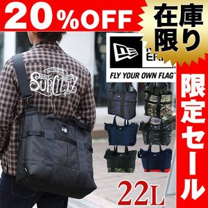 20%OFF 在庫限り ニューエラ NEWERA 2wayトートバッグ ショルダーバッグ Tote Bag|newbag-w