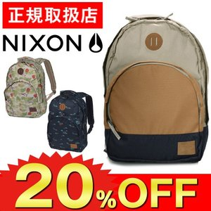 20%OFFセール 数量限定 ニクソン リュック バックパック メンズ レディース NIXON リュ...