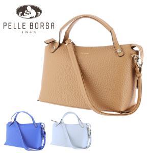 ペレボルサ PELLE BORSA カラーズ Colors 2wayボストンバッグ ショルダーバッグ トートバッグ 203737 レディース 母の日|Newbag Wakamatsu