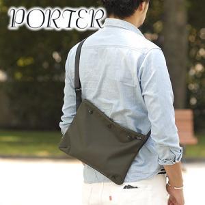 スリムな縦型ショルダー!iPadや小さめのノートPCの持ち運びに! ≪送料無料≫ 商品:PORTER...