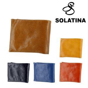 ソラチナ SOLATINA 二つ折財布 折り財布 メンズ レディース sw-60054