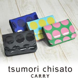 ツモリチサト tsumori chisato カードケース 名刺入れ コンビドットネコ レディース 57211|newbag-w