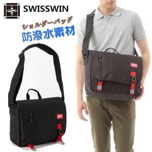 SWISSWIN スイスウィン ウエストバッグ SWE3011 ・摩擦に強い素材で、耐久性に優れたシ...