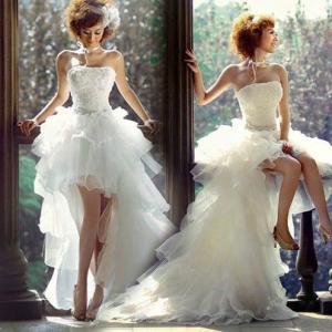 ウェディングドレス 結婚式 披露宴 二次会 パーティードレス ビスチェ ウエディングドレス 韓国風 宮廷豪華ドレス|newdreamjp