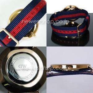 Daniel Wellington ダニエルウェリントン Classic Oxford 36mm クラシック オックスフォード 0501DW DW00100029 ホワイト×レッド×ネイビー 海外モデル 腕時計|newest|03