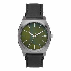 NIXON ニクソン TIME TELLER タイムテラー A045-2070 グリーン×ブラック A0452070 腕時計 ユニセックス|newest