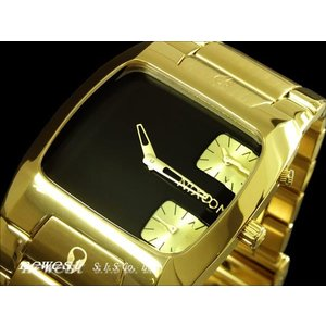 NIXON ニクソン 腕時計 THE BANKS バンクス ALLGOLD BLACK A060-510 A060510|newest
