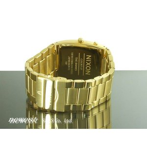 NIXON ニクソン 腕時計 THE BANKS バンクス ALLGOLD BLACK A060-510 A060510|newest|03