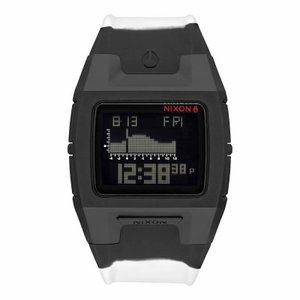 NIXON ニクソン THE LODOWN SILICONE ローダウン シリコン A281-2235 ブラック×ホワイト A2812235 腕時計 メンズ|newest