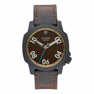 NIXON ニクソン THE SENTRY LEATHER セントリーレザー A471-2209 ブラウン A4712209 腕時計 ユニセックス|newest