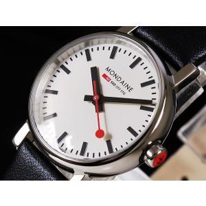 MONDAINE モンディーン 腕時計 Evo エヴォ A6583030111SBB ホワイト×ブラック レディース A658.30301.11SBB 即納|newest