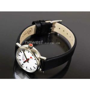MONDAINE モンディーン 腕時計 Evo エヴォ A6583030111SBB ホワイト×ブラック レディース A658.30301.11SBB 即納|newest|02