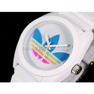 adidas アディダス SANTIAGO サンティアゴ ADH2916 ホワイト×マルチ 腕時計 即納|newest