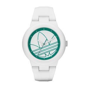 adidas アディダス Aberdeen アバディーン ADH3108 ホワイト×グリーン 腕時計|newest