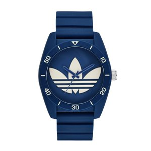 adidas アディダス SANTIAGO サンティアゴ ADH3138 ブルー×ホワイト 腕時計 送料無料 即納|newest