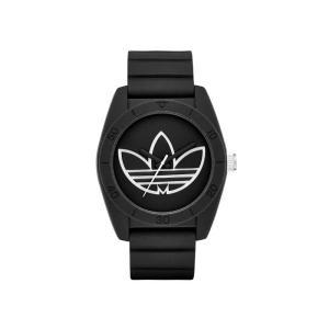 adidas アディダス SANTIAGO サンティアゴ ADH3189 ブラック×ホワイト 腕時計 送料無料|newest