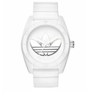 adidas アディダス SANTIAGO サンティアゴ ADH3198 オールホワイト 腕時計 送料無料|newest