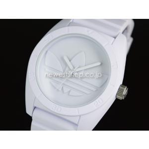 adidas アディダス SANTIAGO サンティアゴ ADH6166 オールホワイト 腕時計 送料無料|newest