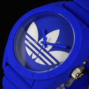 adidas アディダス SANTIAGO サンティアゴ ADH6169 ブルー×ホワイト 腕時計 送料無料|newest