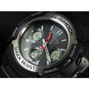 CASIO カシオ 腕時計 G-SHOCK G-ショック 電波 マルチバンド6 タフソーラー AWG-M100-1A 海外モデル 即納|newest
