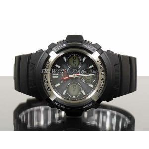CASIO カシオ 腕時計 G-SHOCK G-ショック 電波 マルチバンド6 タフソーラー AWG-M100-1A 海外モデル 即納|newest|02