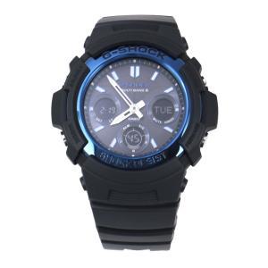 CASIO カシオ 腕時計 G-SHOCK G-ショック 電波 マルチバンド6 タフソーラー AWG-M100A-1A ブルー×ブラック 海外モデル 即納|newest|03