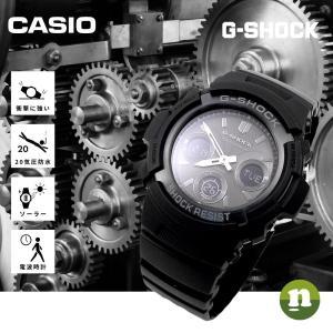 CASIO カシオ 腕時計 G-SHOCK G-ショック 電波 マルチバンド6 タフソーラー AWG-M100B-1A 海外モデル 即納