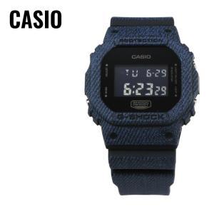 CASIO カシオ G-SHOCK G-ショック DENIM'D COLOR デニム DW-5600DC-1 ネイビー 腕時計 海外モデル メンズ 即納