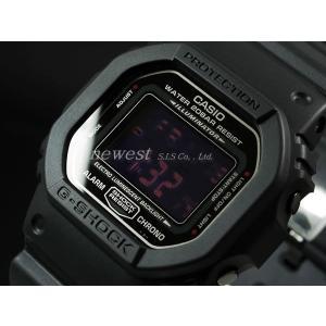 CASIO カシオ 腕時計 G-SHOCK ジーショック Gショック DW-5600MS-1 MAT BLACK RED EYE マットブラック レッドアイ 海外モデル 即納