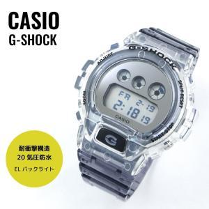 CASIO カシオ G-SHOCK G-ショック Clear Skeleton クリアスケルトン DW-6900SK-1 腕時計 メンズ