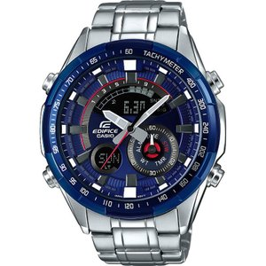 CASIO カシオ EDIFICE エディフィス ERA-600RR-2A ブルー×シルバー 腕時計 海外モデル 即納|newest