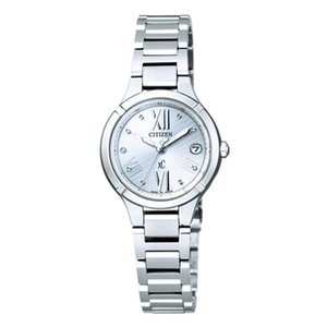 正規品 CITIZEN シチズン xC クロスシー TITANIA LINE MINISOL ティタニア ライン ミニソル ES8080-50A シルバー レディース 腕時計|newest