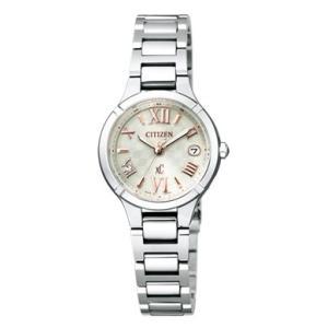 正規品 CITIZEN シチズン xC クロスシー TITANIA LINE MINISOL ティタニア ライン ミニソル ES8080-68A シルバー レディース 腕時計|newest